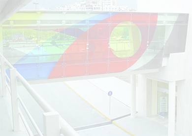 colorful bridge screened